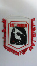 U2 Rattle and Hum vintage music pop rock logo Pennant SMALL