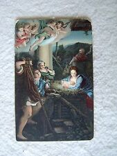 NATIVITY - VINTAGE RELIGIOUS POST CARD - THE HOLY NIGHT - PRE 1907