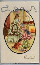Bambini Buon Anno Illustratore Italiano PC Circa 1930 Childrens 3