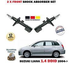 FOR SUZUKI LIANA 1.4 DDID 90BHP 2004->NEW 2 X FRONT SHOCK ABSORBER SHOCKER SET
