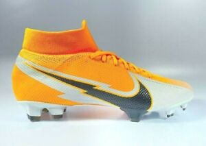 Nike Superfly 7 PRO DF FG Soccer Cleats AT5382-801 Mens Size 9 Laser Orange