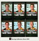2001 Teamcoach Trading Cards Silver Prize Team set West Coast (6)