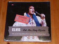 ELVIS PRESLEY Let me .. Sing Again Sleeve 1 Lim Ed CD 1973 Las Vegas Rock'n'Roll