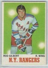 1970-71 OPC O-Pee-Chee #63 Rod Gilbert New York Rangers NM