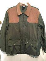 Vintage 10X Jacket Hunting Sportsman Shooting Men's XL Chest 46/48 Green