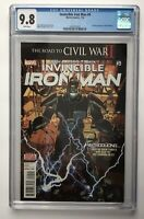 INVINCIBLE IRON MAN 9 CGC 9.8 FIRST APPEARANCE OF RIRI WILLIAMS Marvel FREE SHIP