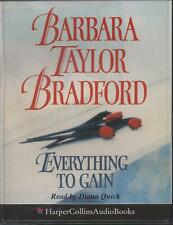 EVERYTHING TO GAIN by Barbara Taylor Bradford ~ Two-Cassette Abridged Audiobook