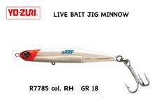 YO ZURI LIVE BAIT JIG MINNOW GR 18 COL RH  CM 7