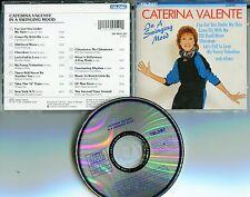 Caterina Valente   CD  IN A SWINGING MOOD (c) 1973/87 TELDEC 244 554 2 W GERMANY