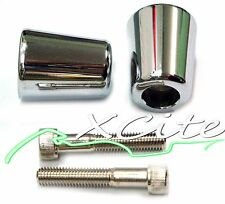 Chrome barends bar ends Kawasaki Ninja 250 ZX6R ZX7R ZX10R ZZR #BE010#