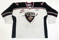 Reebok WHL Vancouver Giants CHL Hockey Jersey Adult XXL White Canada Sewn