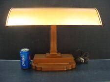 """Art Deco Desk Table Lamp """"Globe"""" Vintage Antique Industrial Banker Lawyer Doctor"""