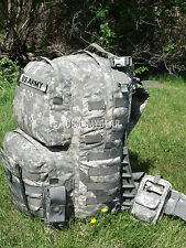 NEW US Army ACU MOLLE Rucksack With Frame Medium Military Backpack w. POUCHES