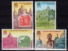 Indonesia - 1975 Save Borubudur / Unesco - Mi. 815-18 MNH