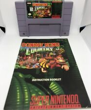 Donkey Kong Country (SNES) W/ Manual (Fast Free Shipping Day Of Purchase)