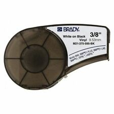 Brady M21 375 595 Bk Label Tape Cartridgepermanent Printer