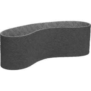 """6"""" x 48"""" Surface Conditioning Non Woven Sanding Belts Gray (Ultra Fine) - 3 PACK"""