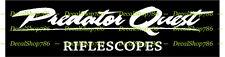 Predator Quest Riflescopes - Outdoor Sports - Vinyl Die-Cut Peel N' Stick Decals