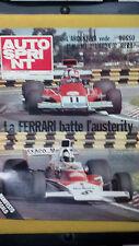 AUTOSPRINT 1974 n.3  Alfa e Ferrari 1974  Diario del Bandama  No manifesto