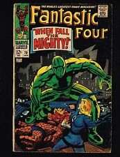 """Fantastic Four #70 ~ (4.0)  """"When Fall The Mighty"""" ~ 1968 WH"""