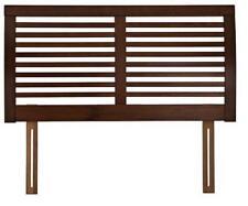 BNIB John Lewis Marlow Wooden Walnut Headboard, Double RRP£175 (2393)