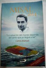 Misal 2014 Catolica Carlos Manuel en portada Puerto Rico