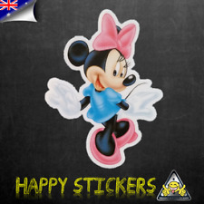 Minnie Mouse Dancing Luggage Car Skateboard Laptop Vinyl Decal Sticker