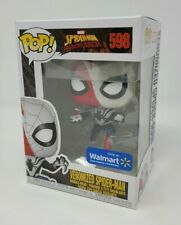 Funko POP! 598 Maximum Venom Venomized Spider-man w/ Pop Protector Nonmint Box q