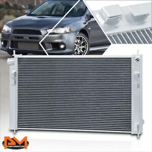 For 08-15 Mit Lancer Evolution 10 EVO X MT Aluminum Core 2-Row Cooling Radiator