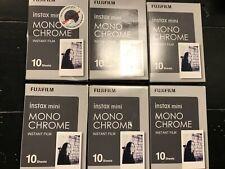 FujiFilm Instax Mini Mono Chrome Instant Film Lot of 6 Expire 03/2020