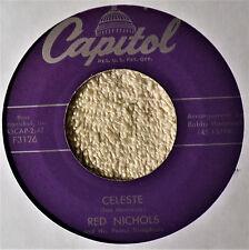 Red Nichols Celeste Mood Music w/Voices 45 NM Gobelues George Gobel TV Theme