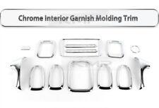 Interior Chrome Garnish Molding Trim 14Pcs K-288 for HYUNDAI 2001-2004 EF Sonata