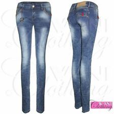Unbranded Stonewashed Mid Rise Slim, Skinny Jeans for Women