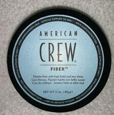 American Crew FIBER Pliable High Hold Low Shine Hair Cream Men Jar 3 oz/85g New