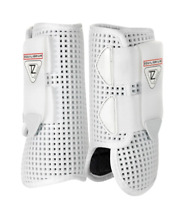 Equilibrium Products Tri-zone open fronted horse boots white Size M/L