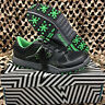NEW HK Army SHREDDER Paintball Cleats - Black/Lime Green - Size 10.0 US