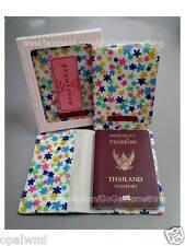 BID Flower passport holder cover case bag wallet girl women gifts FREE SHIPPING!