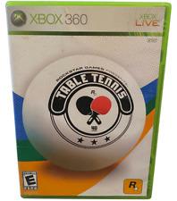 Rockstar Games Presents Table Tennis  Xbox 360 Game