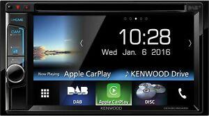 Kenwood DDX8016DABS -N1 - 2 DIN VGA Monitor DAB+ Bluetooth CarPlay USB UVP 599 €