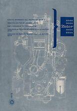 Ersatzteilliste Zetor Motor 2001 3001 4001 5501