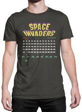 """T-shirt Uomo """"Space Invaders"""" - maglietta 100% cotone - GRAFITE"""