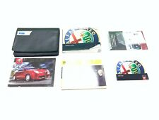 GENUINE ALFA ROMEO MITO OWNERS MANUAL HAND BOOK SERVICE AND WARRANTY 2008-2018