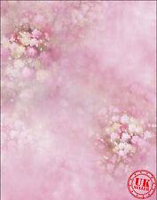 FLOWER TREE ROSE PINK BABY BACKDROP BACKGROUND VINYL PHOTO PROP 5X7FT 150x220CM