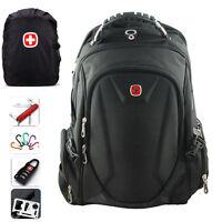 "SwissGear Waterproof Backpack Travel Sports 15"" Laptop Bag Schoolbag Daypack New"