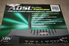ADSL in the Fastlane X6V Model 5695 ADSL 2/2+ Modem Wireless G Router Swith VoIP
