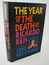 1st Edition DEATH OF RICARDO REIS Jose Saramago NOBEL PRIZE First Printing RARE
