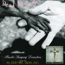 Dead Kennedys - Plastic Surgery Disasters/In God We Trust [New CD] UK - Import