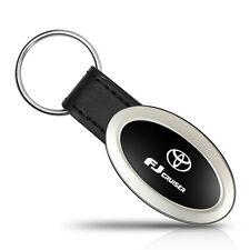 Toyota FJ Cruiser Oval Style Metal Key Chain Key Fob