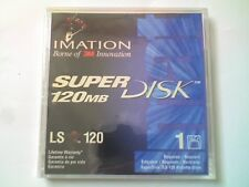 Imation LS-120 SuperDisk 120Mb Windows/Msdos formateado & Jewel Case-nos-V4,