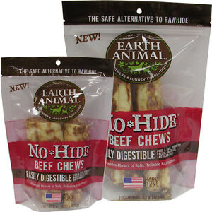 Earth Animal Dog No Hide Beef (Free Shipping in USA)